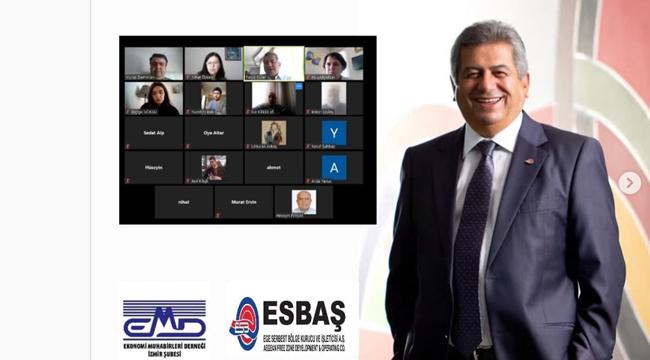 ESBAŞ Yürütme Kurulu Başkanı Güler online toplantıda EMD'ye konuk oldu