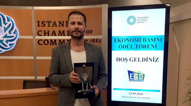 EGD Yerel Basın Ödülünü Utkucan Akkaş kazandı