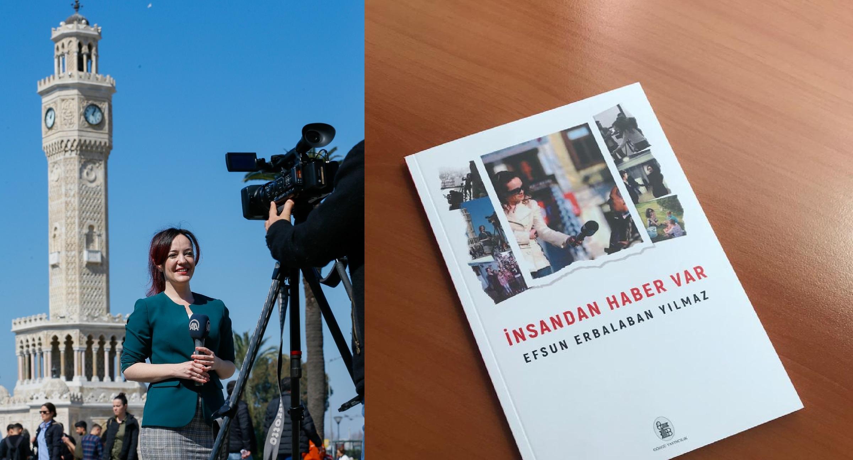 """İzmirli gazeteci EfsunYılmaz,""""yaşam haberlerini"""" kitaplaştırdı"""